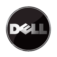 Dell 3D logo vector