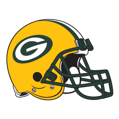 green bay packers helmet logo vector (.eps, .ai, .cdr, .pdf, .svg