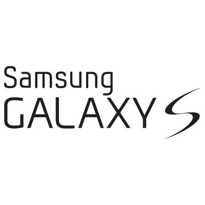 samsung galaxy logo. samsung galaxy s logo vector preview