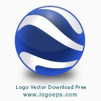 Google Earth logo, logo of Google Earth, download Google Earth logo, Google Earth, vector logo