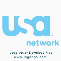 USA network logo, logo of USA network, download USA network logo, USA network, vector logo