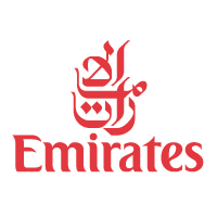 Emirates Airlines logo vector