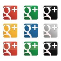 Google plus vector