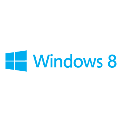 Windows 8 logo vector