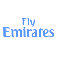 Fly Emirates logo vector, logo Fly Emirates in .EPS format