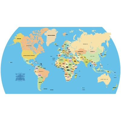 Accurate vector world map logo vector eps r pdf g accurate world map vector download gumiabroncs Image collections