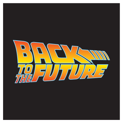 back to the future logo vector (.eps, .ai, .cdr, .pdf, .svg) free