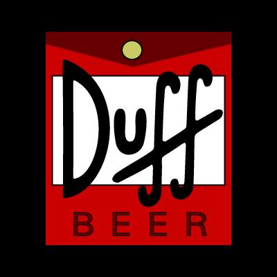 Duff Beer logo vector