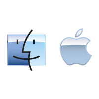Apple Mac OS vector logo