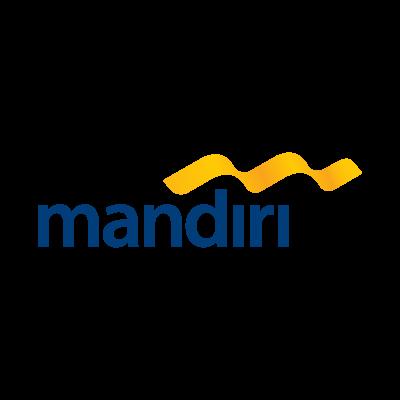Bank mandiri logo vector