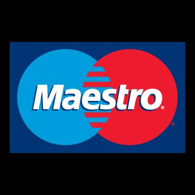 Mastercard Maestro logo vector