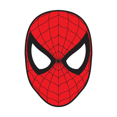 spiderman mask vector (.eps, .ai, .cdr, .pdf, .svg) free download