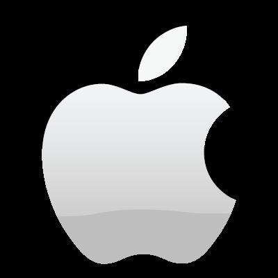 apple logo white transparent. apple logo vector (.eps) white transparent e