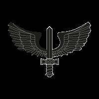 Brazilian Air Force black vector logo