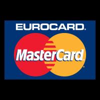 Mastercard Eurocard logo vector
