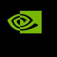 Nvidia logo vector