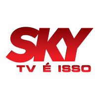 Sky TV logo vector