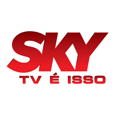 Sky TV logo vector