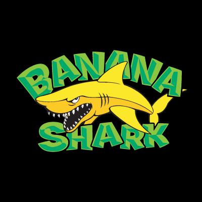 Banana Shark logo vector