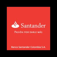 Banco Santander Colombia logo vector