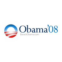 Barack obama 2008 logo vector