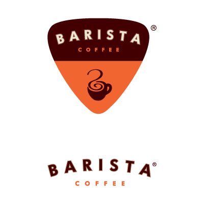 Barista India logo vector