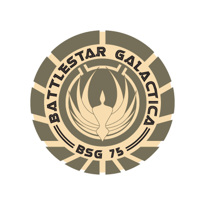 Battlestar Galactica logo vector