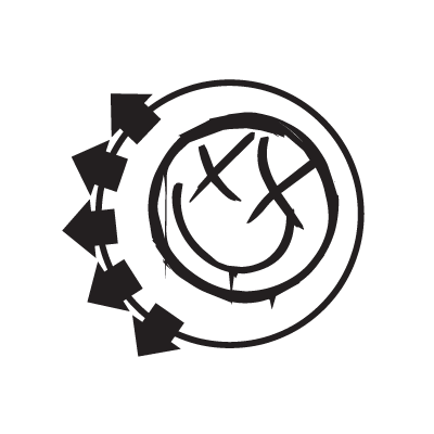 Blink 182 logo vector