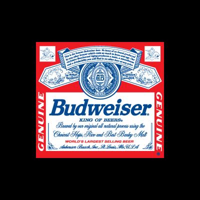 Budweiser Beer logo vector