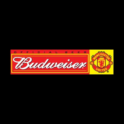 Budweiser Manchester United logo vector