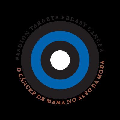 Cancer de Mama no Alvo da Moda logo vector