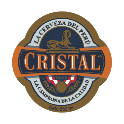 Cerveza Cristal logo vector