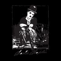 Charlie chaplin logo vector