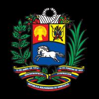 Coat of arms of Venezuela logo vector
