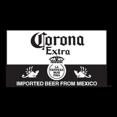 Corona Extra Black (.EPS) logo vector