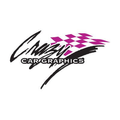 Crazy Car Graphics logo vector