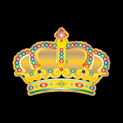 Crown siva logo vector