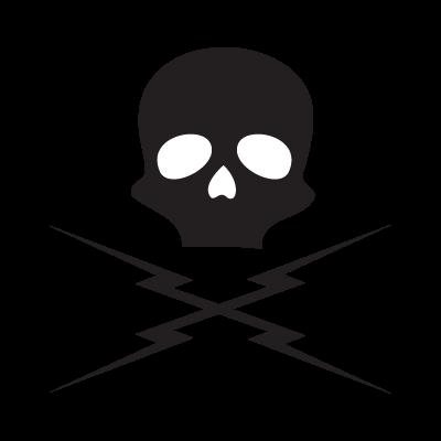 Death proof skull logo vector
