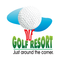 DLF Golf Resort logo vector