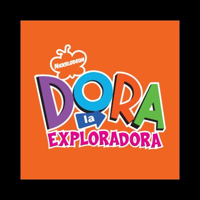 Dora la Exploradora logo vector