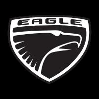 Eagle car company logo vector