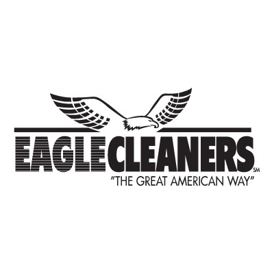 Eagle Cleaners logo vector