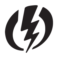 Electric logo vector