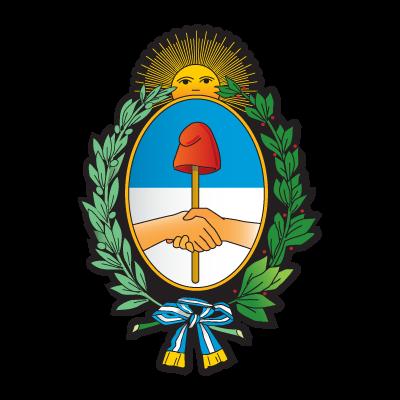 Escudo argentino logo vector