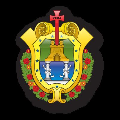 Escudo veracruz logo vector