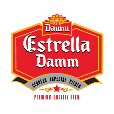 Estrella Damm logo vector