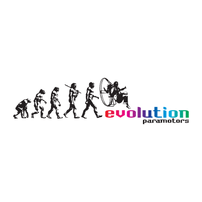Evolution Paramotors logo vector