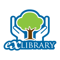 Exlibrary logo vector