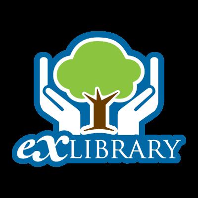 Exlibrary logo vector