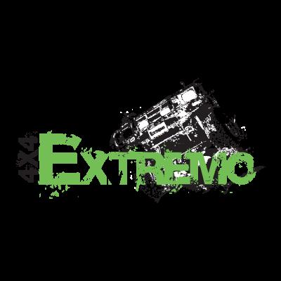 Extremo 4x4 logo vector